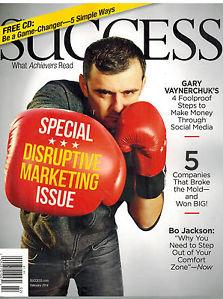 Success Magazine_Disruptive Marketing Issue